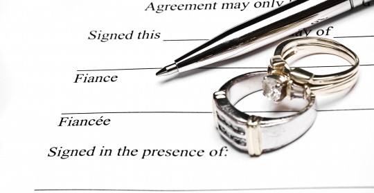 Florida Prenuptial Agreements – What's Covered