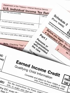 IRS Tax Forms pertaining to divorce.