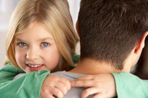 daughter during custody arrangement