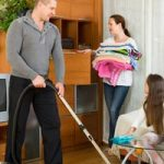 Survey Says Sharing Chores Helps Save Marriages